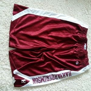 Harvard athletic shorts